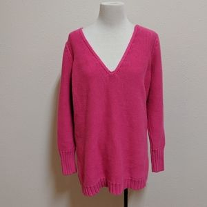 14-/16 Lane Bryant v neck sweater v neck